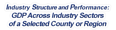 Maine - Gross Domestic Product Across Industry Sectors of a Selected County or Region